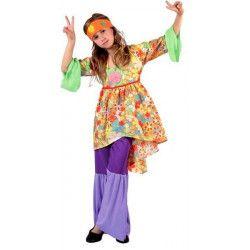 Déguisement hippie fille 5-6 ans Déguisements 6971
