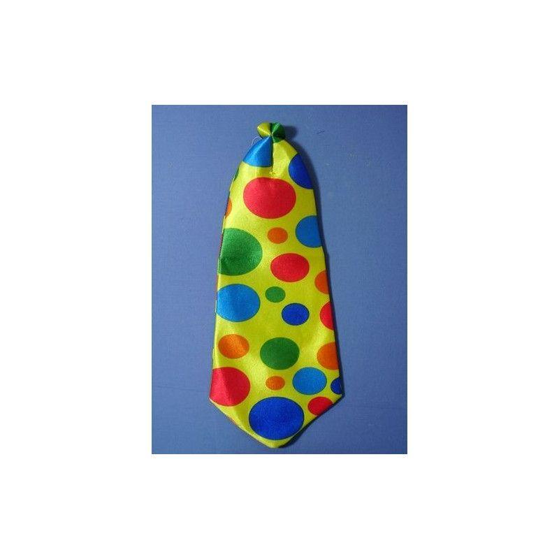 Cravate clown géante Accessoires de fête 69827