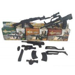 Pistolet M16 à assembler Jouets et articles kermesse 6999