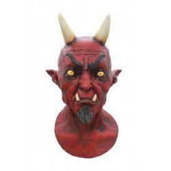 Masque latex Lucifer adulte Accessoires de fête 70012-26440