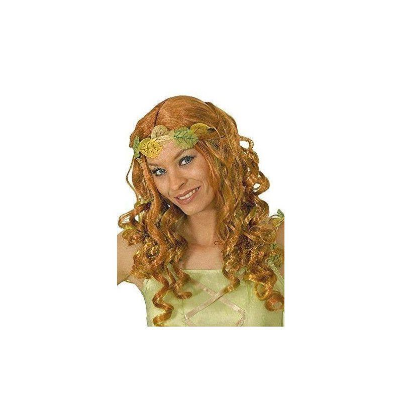 Accessoires de fête, Perruque Fée rouge irisée mèches vert/jaune, 11277344, 17,90€