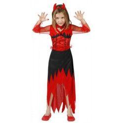 Déguisements, Déguisement Démon fille taille 7-9 ans, 70111ATOSA, 13,90€