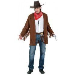 Veste cowboy ou hippie Déguisements 70138