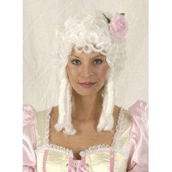 Perruque Versailles blanche Accessoires de fête 11278501