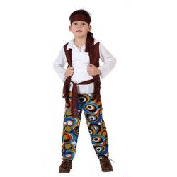 Déguisement hippie garçon 5-6 ans Déguisements 70206