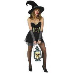 Déguisements, Déguisement de sorcière sexy adulte M-L, 70309, 19,50€