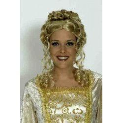 Accessoires de fête, Perruque blonde Sans Souci, 11278815, 21,75€