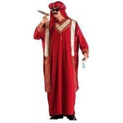 Déguisements, Costume sultan arabe de luxe taille L, 70843, 49,90€