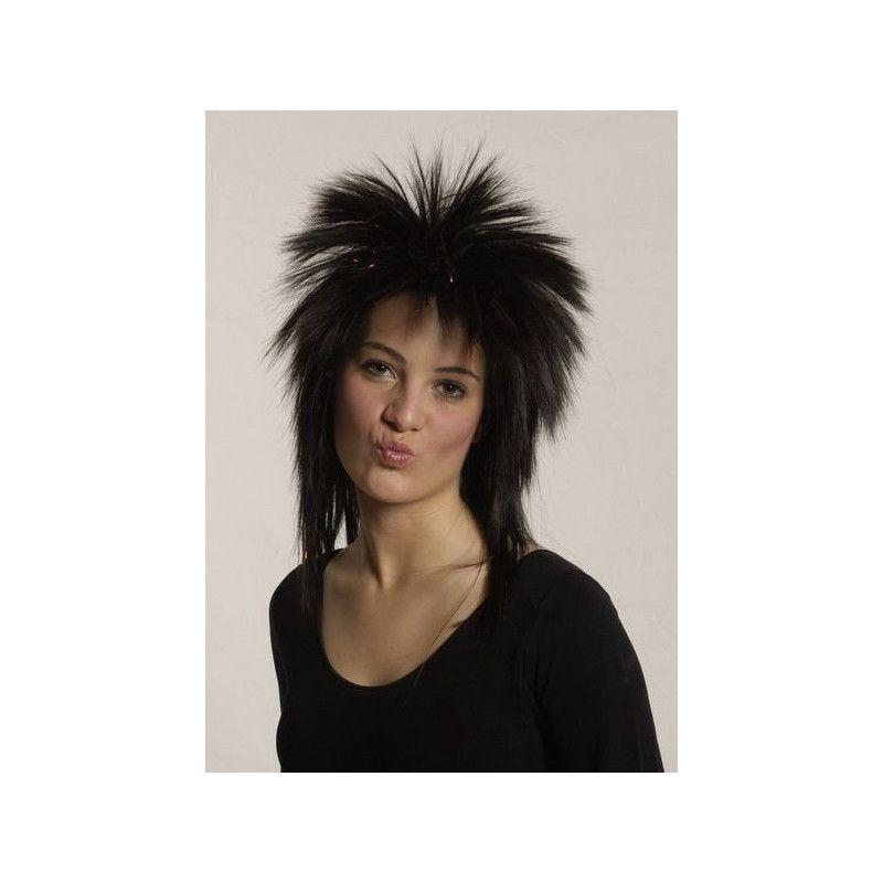 Perruque Tina noire Accessoires de fête 11279114