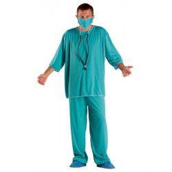 Déguisements, Déguisement chirurgien homme taille L, 71063, 19,90€