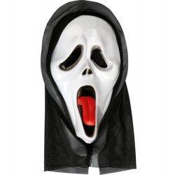 Masque fantôme avec cagoule Accessoires de fête 71819