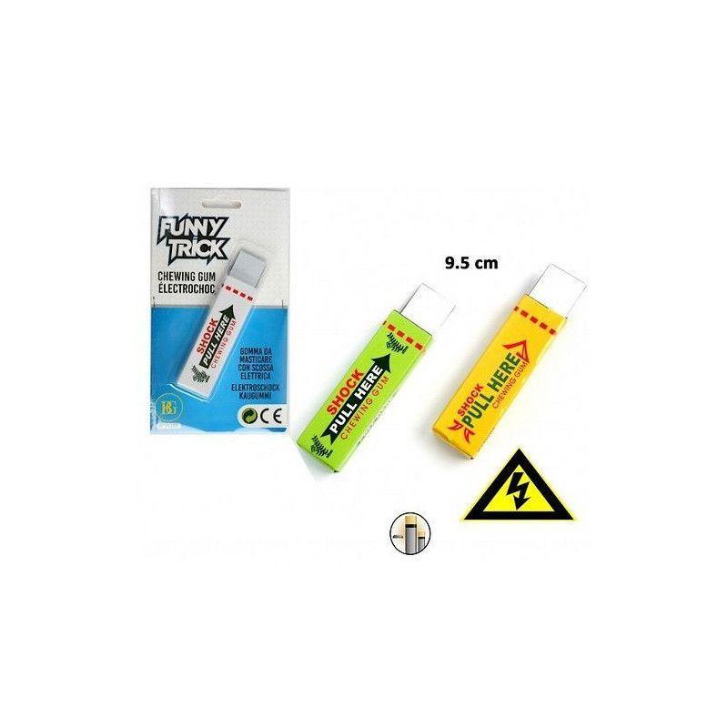 Accessoires de fête, Chewing gum électrochoc farce, 11355, 1,60€