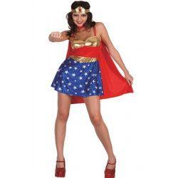 Déguisements, Déguisement super woman femme taille M, 71969, 29,90€