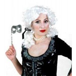 Accessoires de fête, Perruque blanche de baronne, 72052, 16,50€