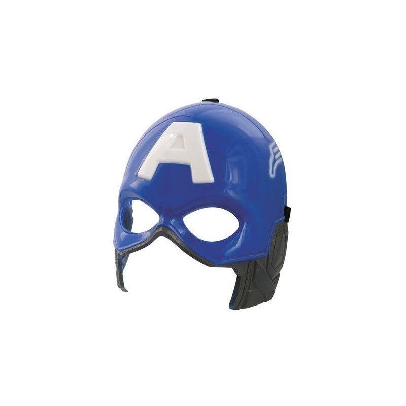 Masque bleu de super héro Captain Accessoires de fête 72307