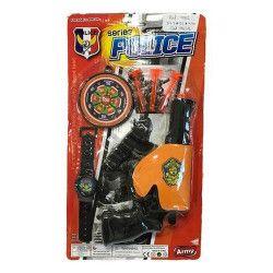 Jouets et kermesse, Panoplie police avec flèches et cible, 7262, 1,45€
