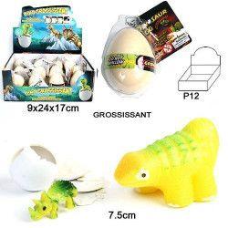 Jouets et kermesse, Lot 12 animaux dinosaure grossissant 7 cm, 11454-LOT, 1,10€