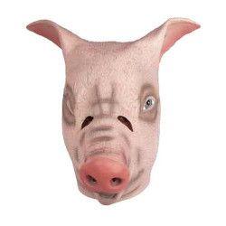 Masque cochon en latex Accessoires de fête 73483
