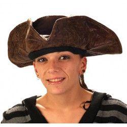 Chapeau Pirate des Caraïbes Accessoires de fête 73520