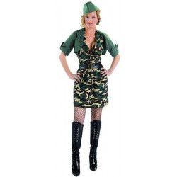 Deguisement femme soldat adulte taille M/L Déguisements 73676