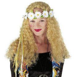 Bandeau fleur hippie Accessoires de fête 74155