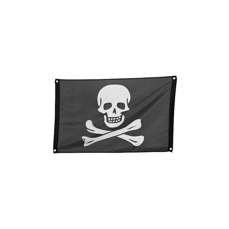 Drapeau pirate 90 cm Déco festive 74162