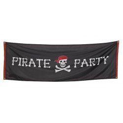 Bannière Pirate party 220 x 74 cm Déco festive 74184