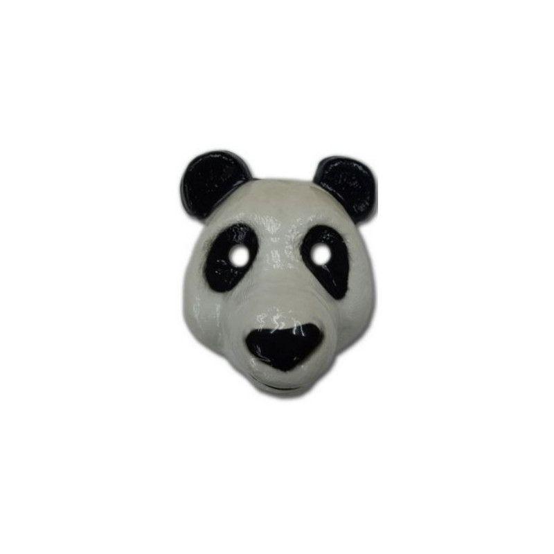 Masque plastique panda enfant Accessoires de fête 74276