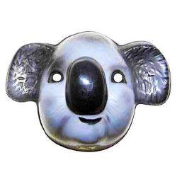 Masque plastique koala enfant Accessoires de fête 74278
