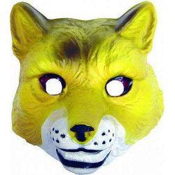 Masque renard en plastique Accessoires de fête 74530