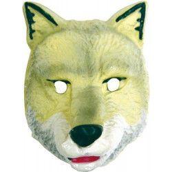Masque plastique loup enfant Accessoires de fête 74540