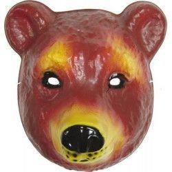 Accessoires de fête, Masque enfant Ours, 74580, 2,90€