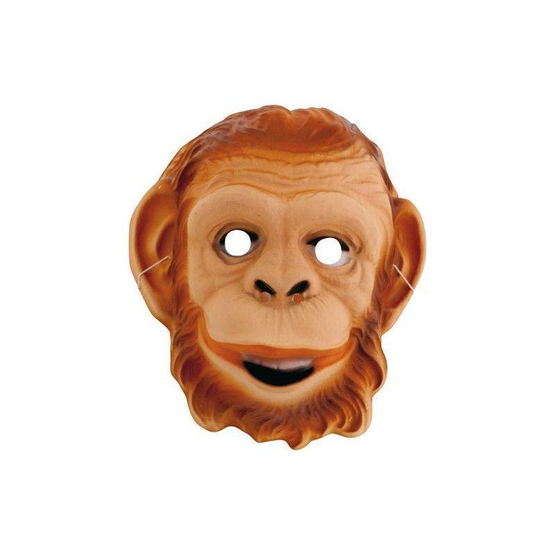 Masque plastique singe enfant Accessoires de fête 74600