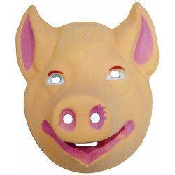 Masque cochon enfant Accessoires de fête 74610