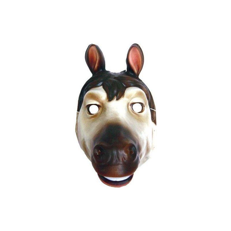 Masque plastique cheval enfant Accessoires de fête 74620
