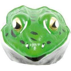 Masque plastique grenouille enfant Accessoires de fête 74670