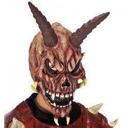Accessoires de fête, Masque squelette diable en latex, 1158, 28,50€
