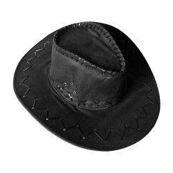 Chapeau Cowboy noir Accessoires de fête 76007