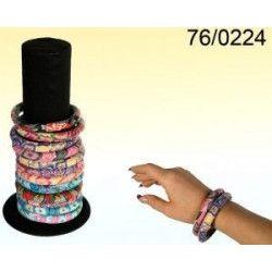 Bracelet en polyrésine fimo Floral Accessoires de fête 760224