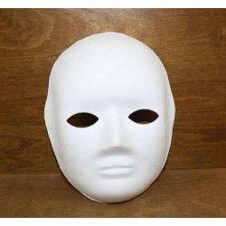 Masque à peindre femme Jouets et articles kermesse 76036