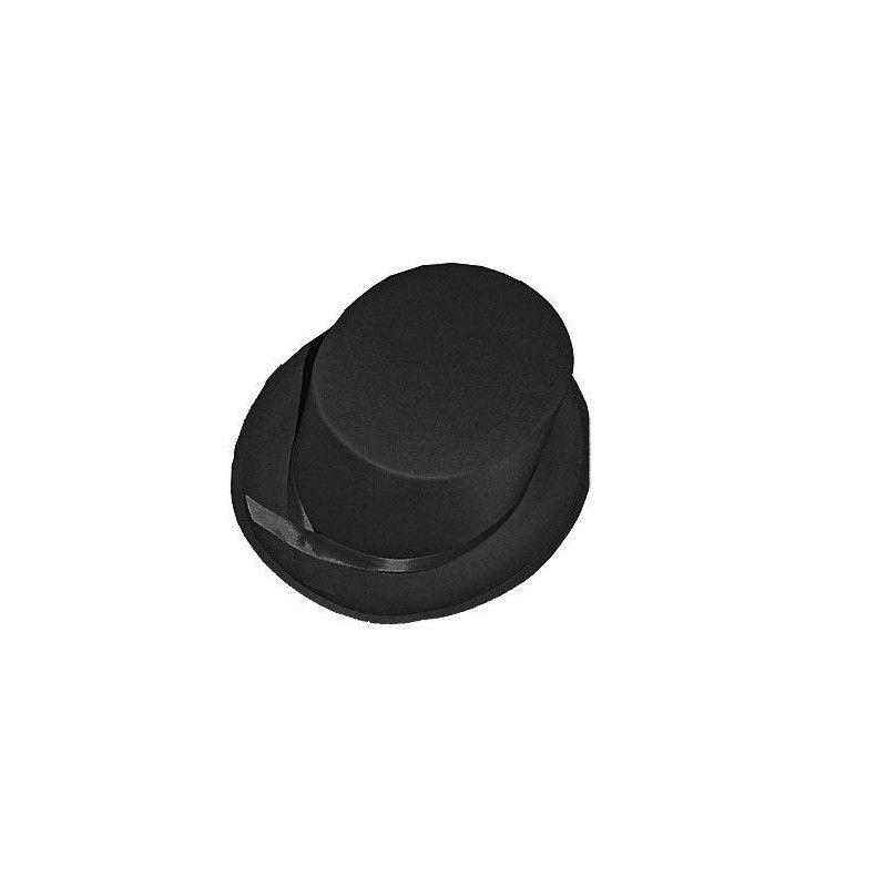 Chapeau haut de forme noir Accessoires de fête 76144