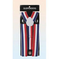 Accessoires de fête, Bretelles drapeau français, 762, 5,40€