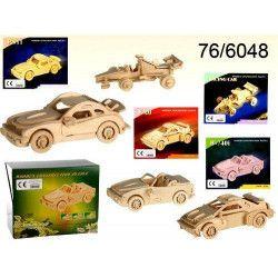 Puzzle en bois voitures 3D Jouets et articles kermesse 766048