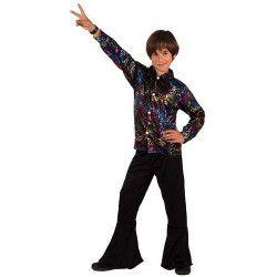 Costume garçon disco taille 7-9 ans Déguisements 7689