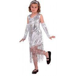 Déguisement fille Disco brillant 3-4 ans Déguisements 7700
