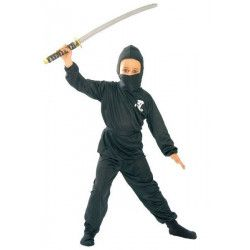 Déguisement ninja noir garçon 7-9 ans Déguisements 78572