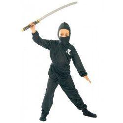 Déguisement ninja noir garçon 10-12 ans Déguisements 78573