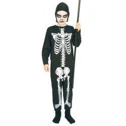 Déguisement squelette noir garçon 7-9 ans Déguisements 78712
