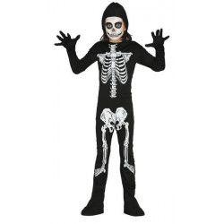 Déguisement squelette noir garçon 10-12 ans Déguisements 78713