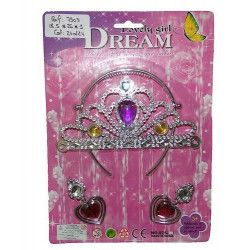Diadème de princesse avec accessoires Jouets et articles kermesse 7903TOYS
